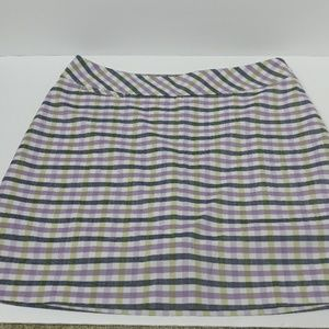 Adidas Climacool Plaid Golf Skort